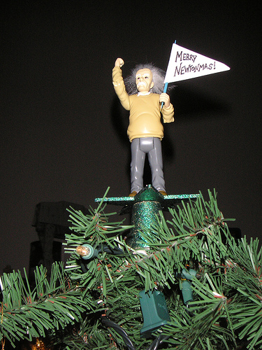 Einstein Tree Topper